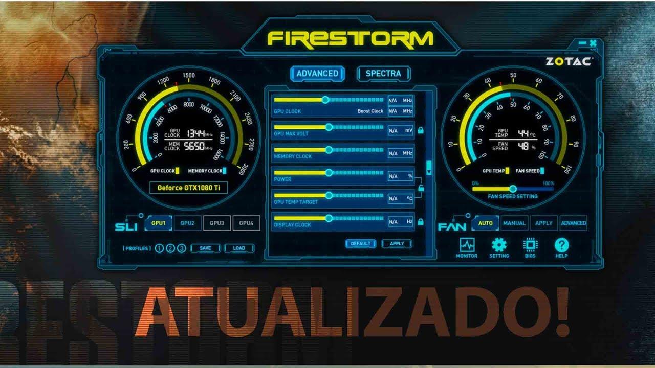 FIRESTORM 2 0 PARA GTX 760 AMP EDITION COMPATIBLIDADE FULL WIN 10