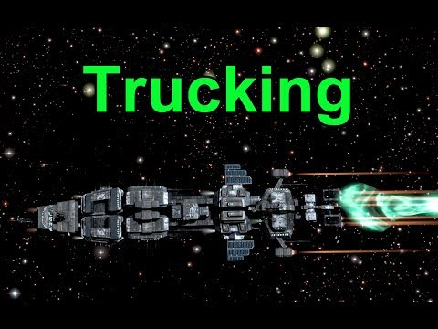 Trucking - EVE Online Live Presented in 4k