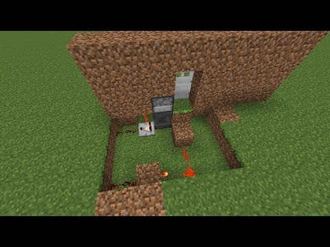 Minecraft Tutorial Password Key Locked Door W Hoppers