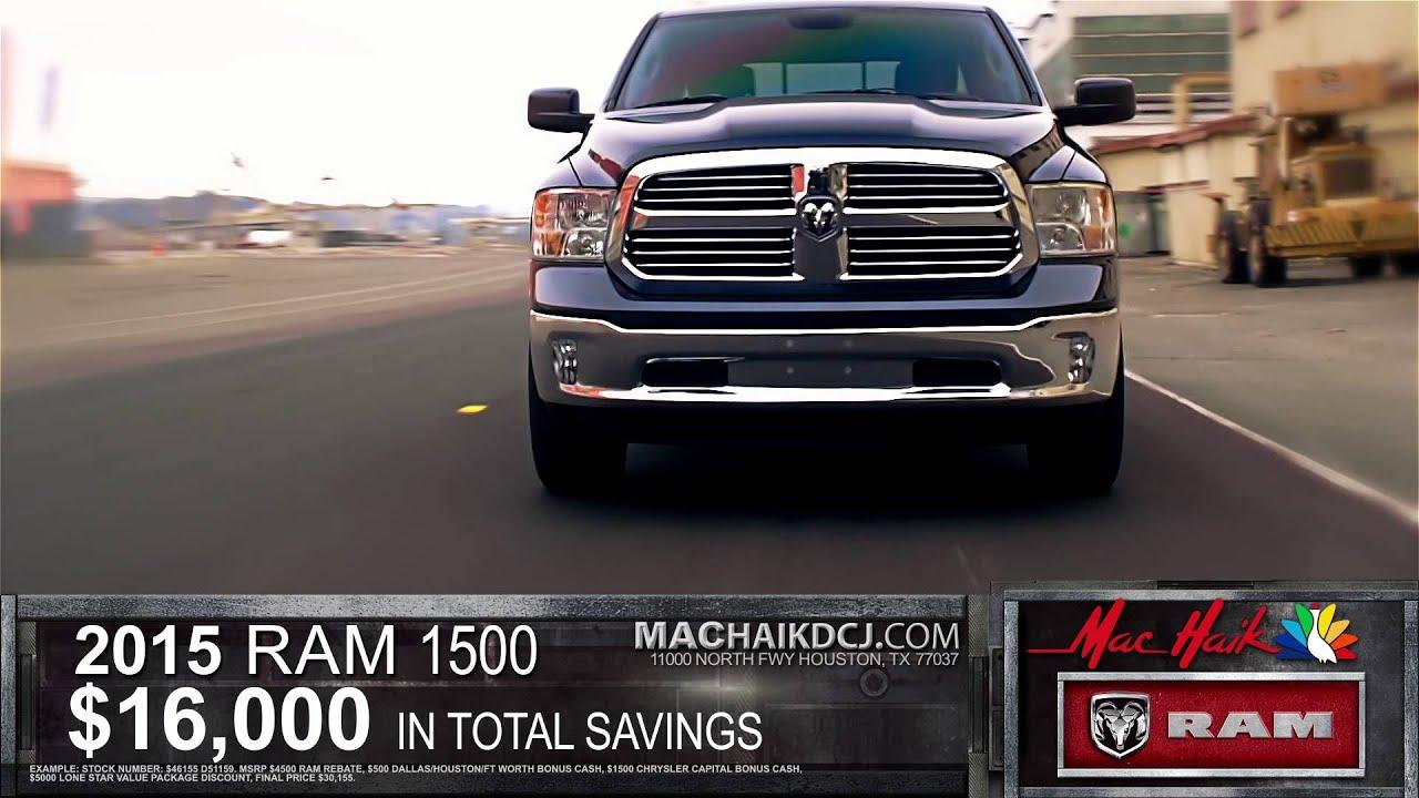 Maik Haik Dodge >> Truck Month - Mac Haik Dodge Chrysler Jeep Ram - YouTube