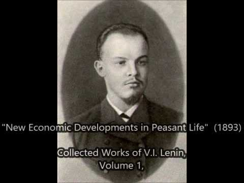"New Economic Developments in Peasant Life - ""CHAPTER 3"" (by LENIN 1893)"