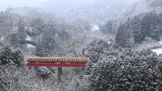 2019/02/11 小湊鉄道雪景色