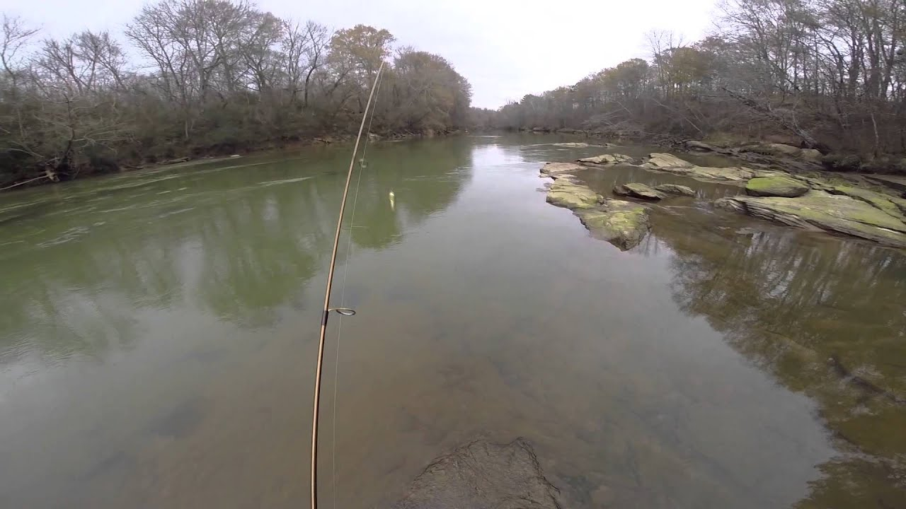 Settles bridge trout fishing chattahoochee river youtube for Chattahoochee river fishing