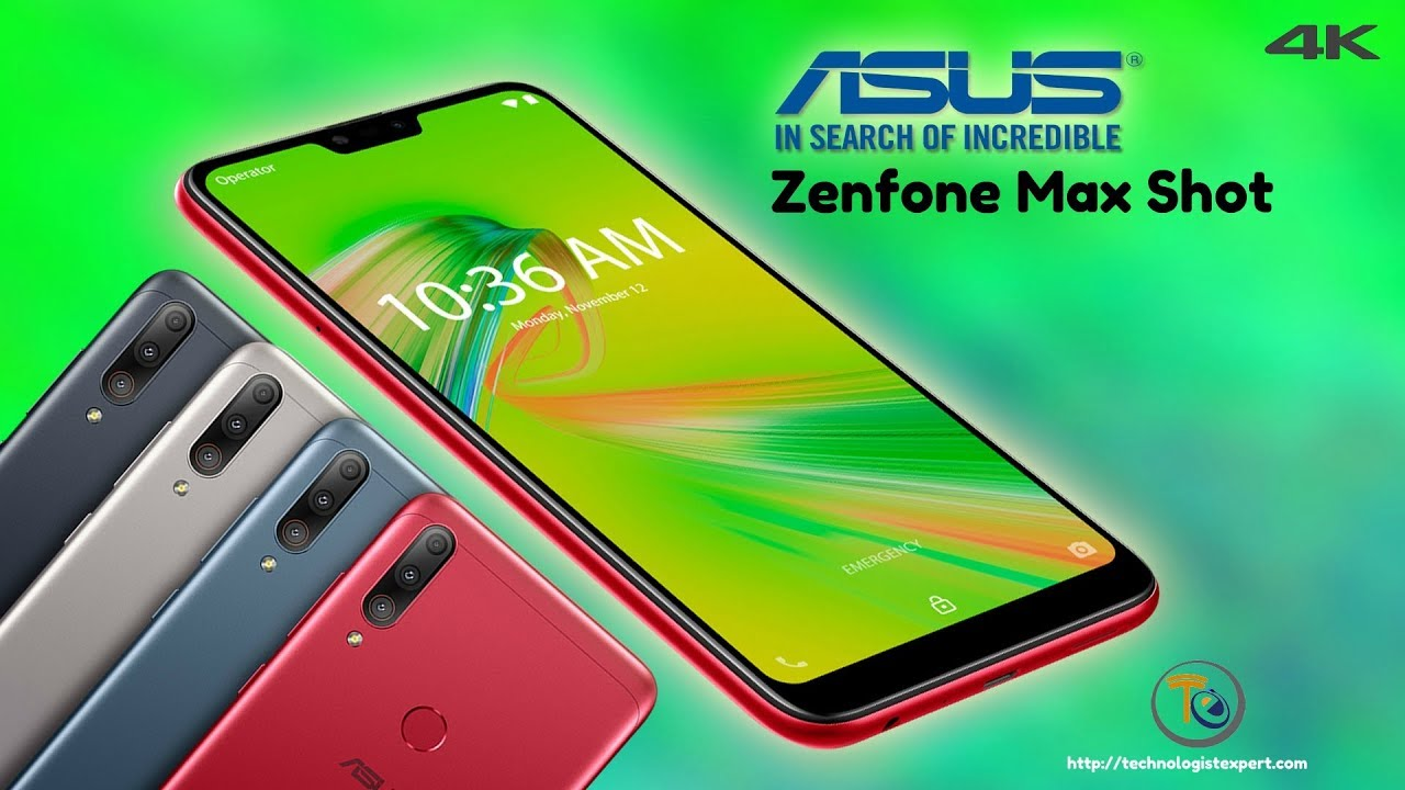 Asus Zenfone Max Shot ZB634KL latest version
