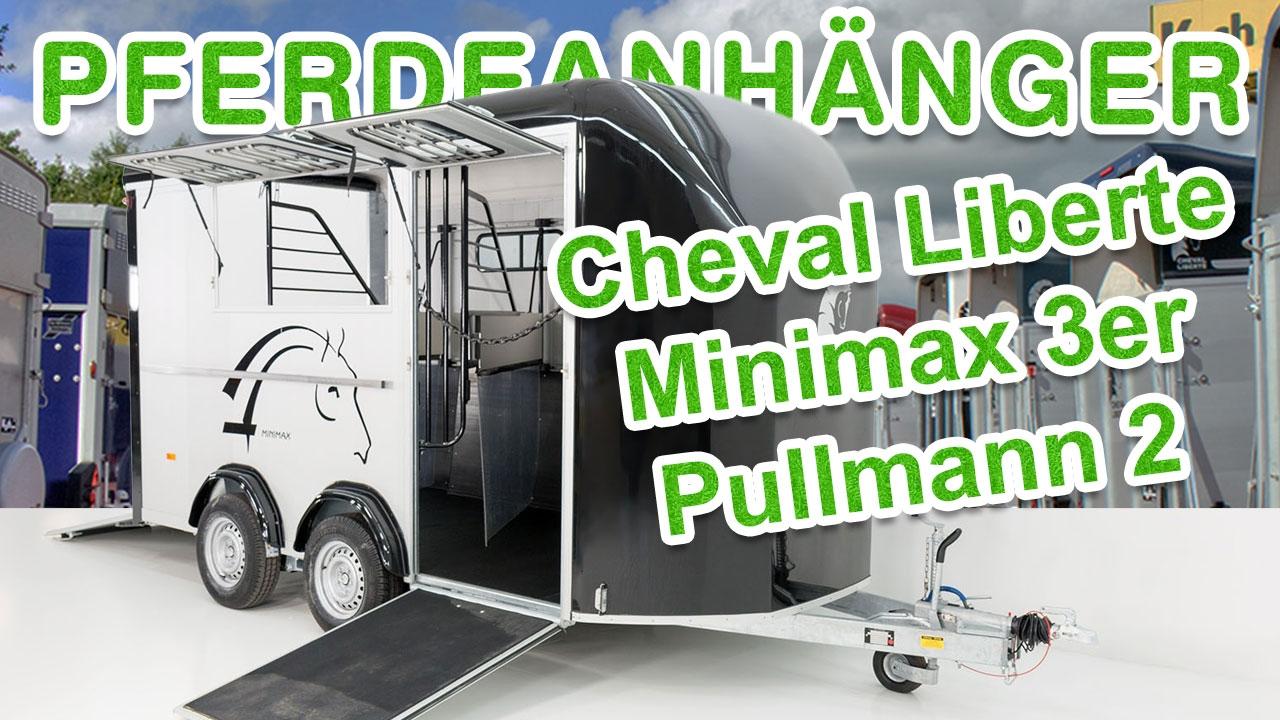 pferdeanh nger cheval liberte minimax 3er pullmann 2 bei. Black Bedroom Furniture Sets. Home Design Ideas