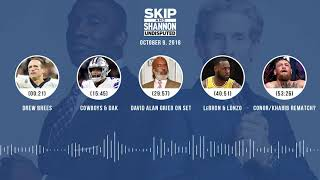 UNDISPUTED Audio Podcast (10.09.18) with Skip Bayless, Shannon Sharpe & Jenny Taft   UNDISPUTED