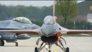NICE Mass Takeoff  F16