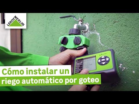 Instalar un riego automático por goteo - LEROY MERLIN thumbnail