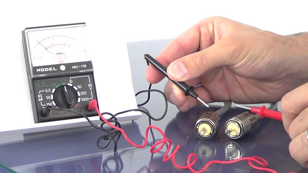 Testing Cb Antenna Coax Youtube Wiring
