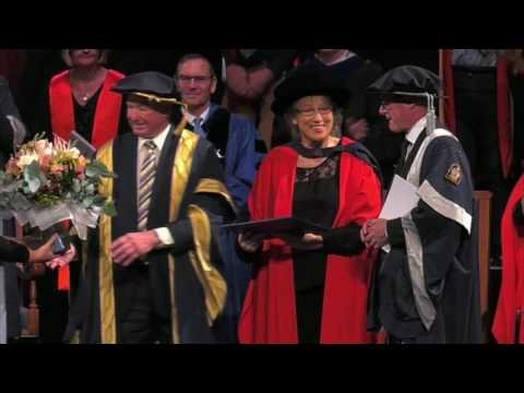 Diana Goodman Honorary Doctorate - Wellington May 2016 | Massey University