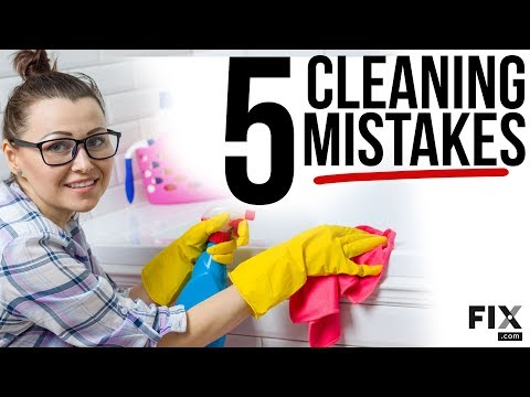 Home-Hacks-Top-5-Cleaning-Mistakes-Youre-Making-in-Your-Home-FIX.com_