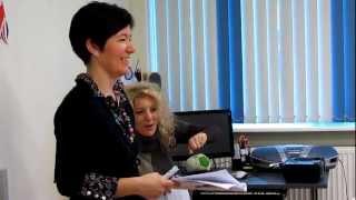 Учителя английского из различных стран в Atlasnet:) Видео 1