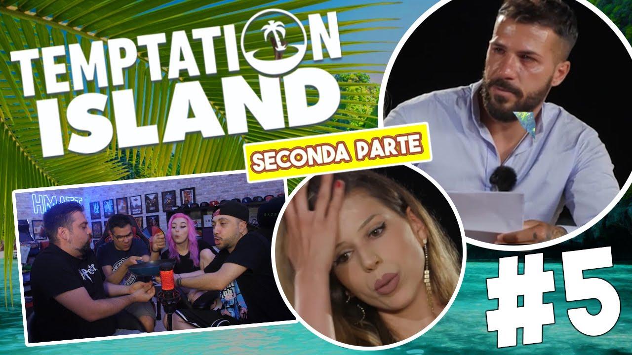 IL TURN DE FRITTAT E' SERVITO   Temptation Island 2021 *Reaction*   Episodio #5 [Parte 2]