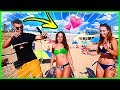 Teaching GIRLS How To DANCE On The BEACH! | Funk HOTTEST DANCER | Super Funny Street Interviews