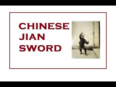 The Chinese Jian Sword, Compared to European swords - My First Impressions