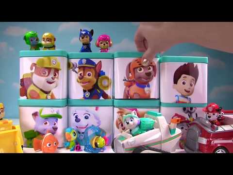 HUGE Paw Patrol & PJ Masks Toy Surprise Blind Box Show