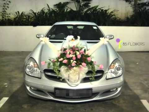 Wedding Car Flowers Car Decor Picture Ideas Youtube