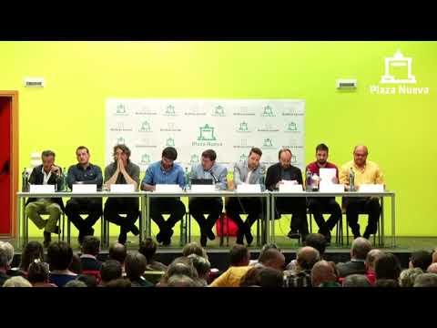 El debate de Plaza Nueva: Alfredo Molinero Payueta (VOX) pide el voto a la ciudadanía de Tudela