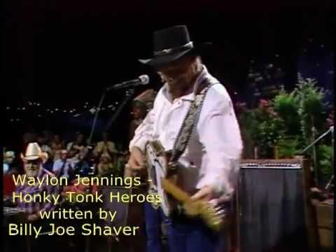 Waylon Jennings  Honky Tonk Heroes  1984