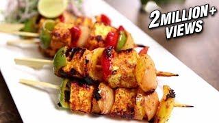 Paneer Tikka Recipe  How To Make Paneer Tikka On Tawa  The Bombay Chef  Varun Inamdar
