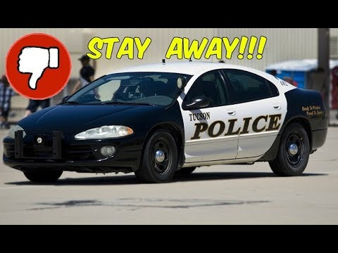The Absolute Worst Police Interceptor Ever Dodge Intrepid