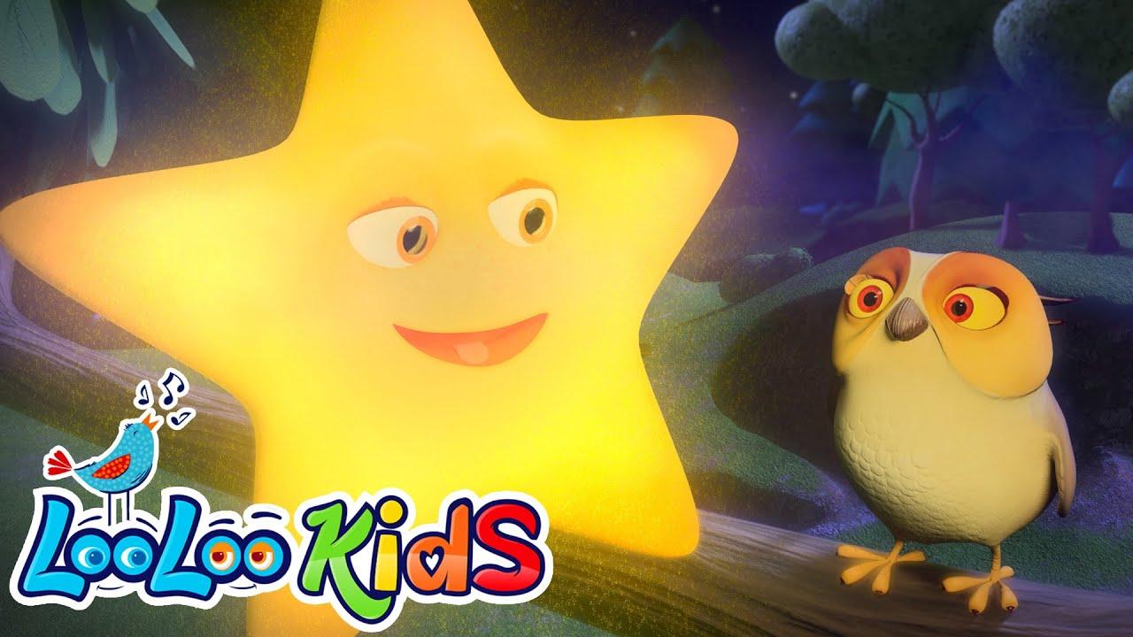 Twinkle Twinkle Little Star Lullaby For Kids Looloo Kids Youtube