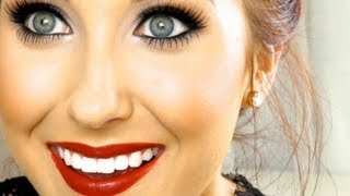 Classic Red Lip Makeup Tutorial | Jaclyn Hill