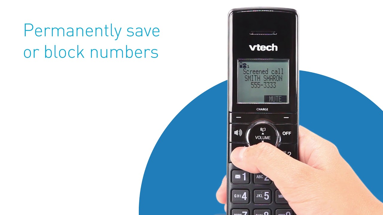 VTech Smart Call Blocker Phone System