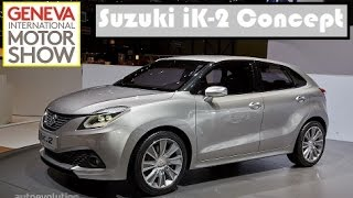 Suzuki iK-2 Concept, live photos at 2015 Geneva Motor Show