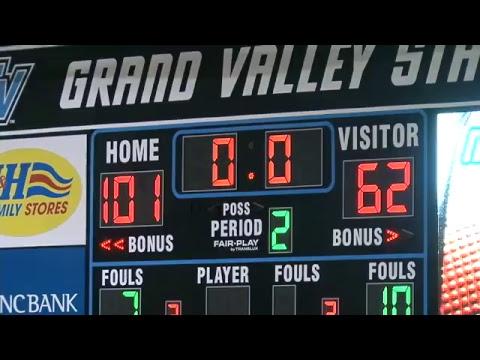 2017-18 Men's Basketball vs. Lawrence Tech Blue Devils