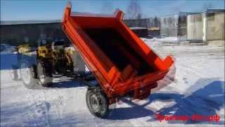 Прицеп-самосвал 1,5т(Полуприцеп тракторный самосвальный с откидным задним бортом. Грузоподъемностью 1,5 тонны. Предназначен..., 2013-04-06T11:47:56.000Z)