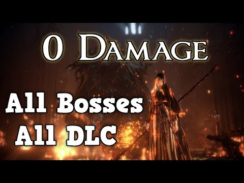 Worlds First 0 Damage All Bosses+DLC  Run - Dark Souls 3