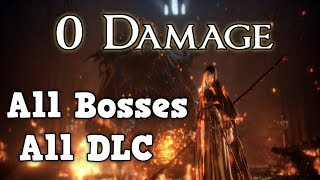 Worlds First 0 Damage All Bosses+DLC Run - Dark Souls 3