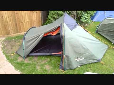 & Vango Banshee 300 3 Man Tent - YouTube