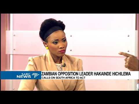 Hakainde Hichilema's SA visit: Izak Khomo