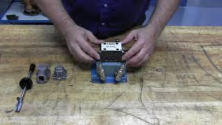 Hydraulique-Inspection d'un distributeur hydraulique à levier