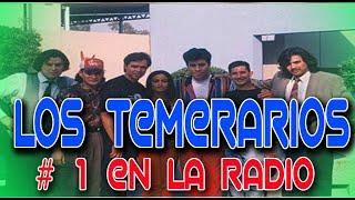 Los Temerarios audios de una radio de estados unidos  ineditos