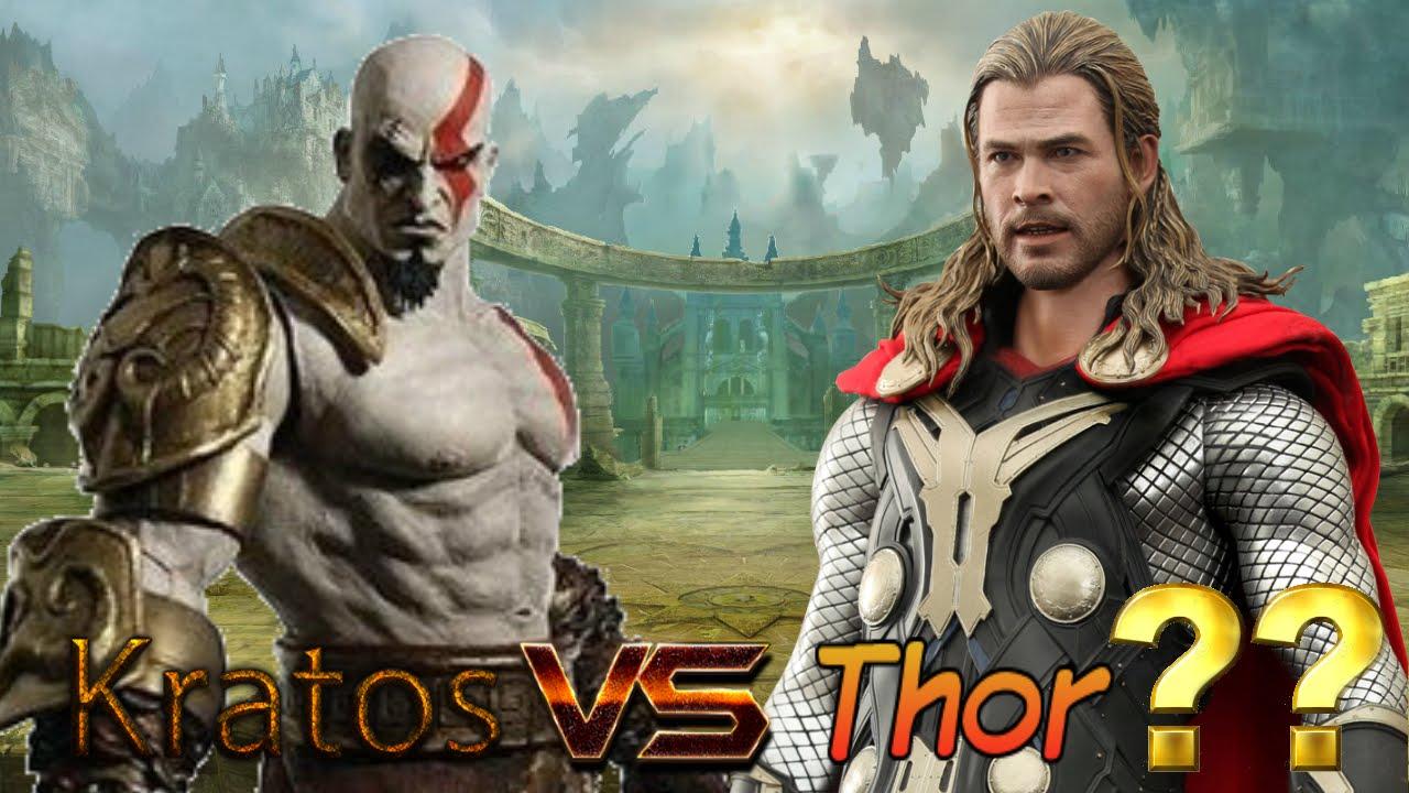 Kratos Vs Thor God Of War 4 Pics Leaked