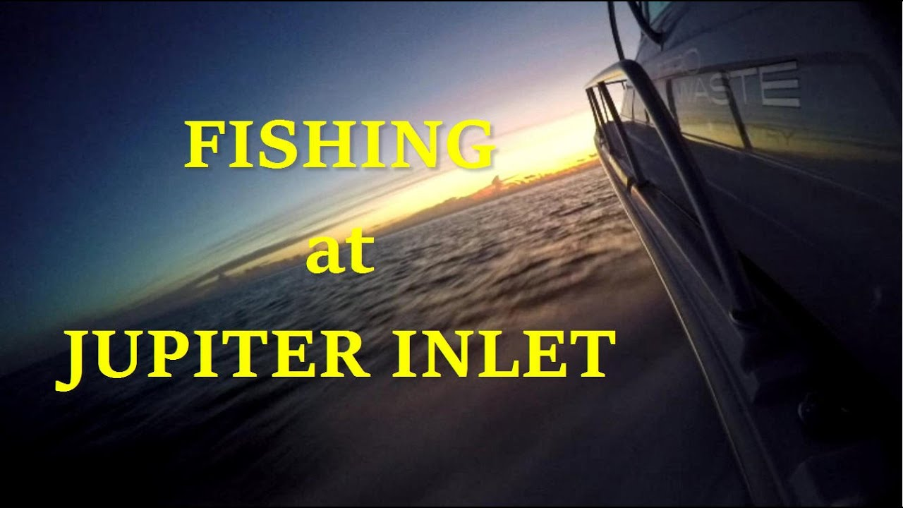 Boat Fishing Jupiter Inlet Florida Lighthouse Before