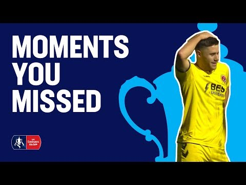 Freak Goals & Tumbling Fans! | Moments You Missed | Emirates FA Cup 2018/19