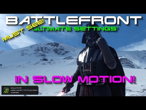 [MUST SEE] [1080p] [60FPS] ➜ Star Wars -Battlefront Amazing Slow Motion Footage!