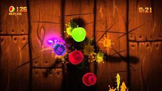 FRUIT NINJA KINECT ARCADE MODE play #1