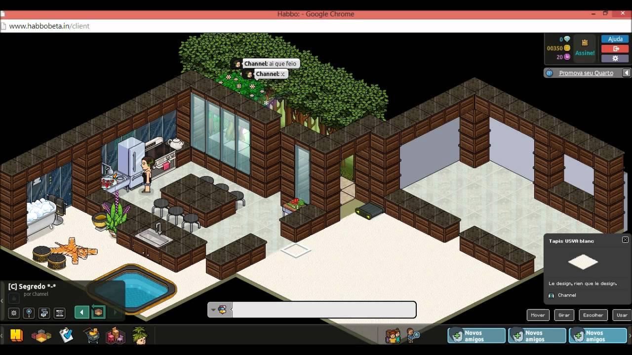 Casas Habblet ~ HABBO Construindo Apartamento (Construç u00e3o Rel u00e2mpago) YouTube