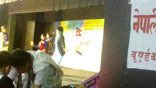Deep sagar thapa in  abudhabi at magar association 2012 feb24