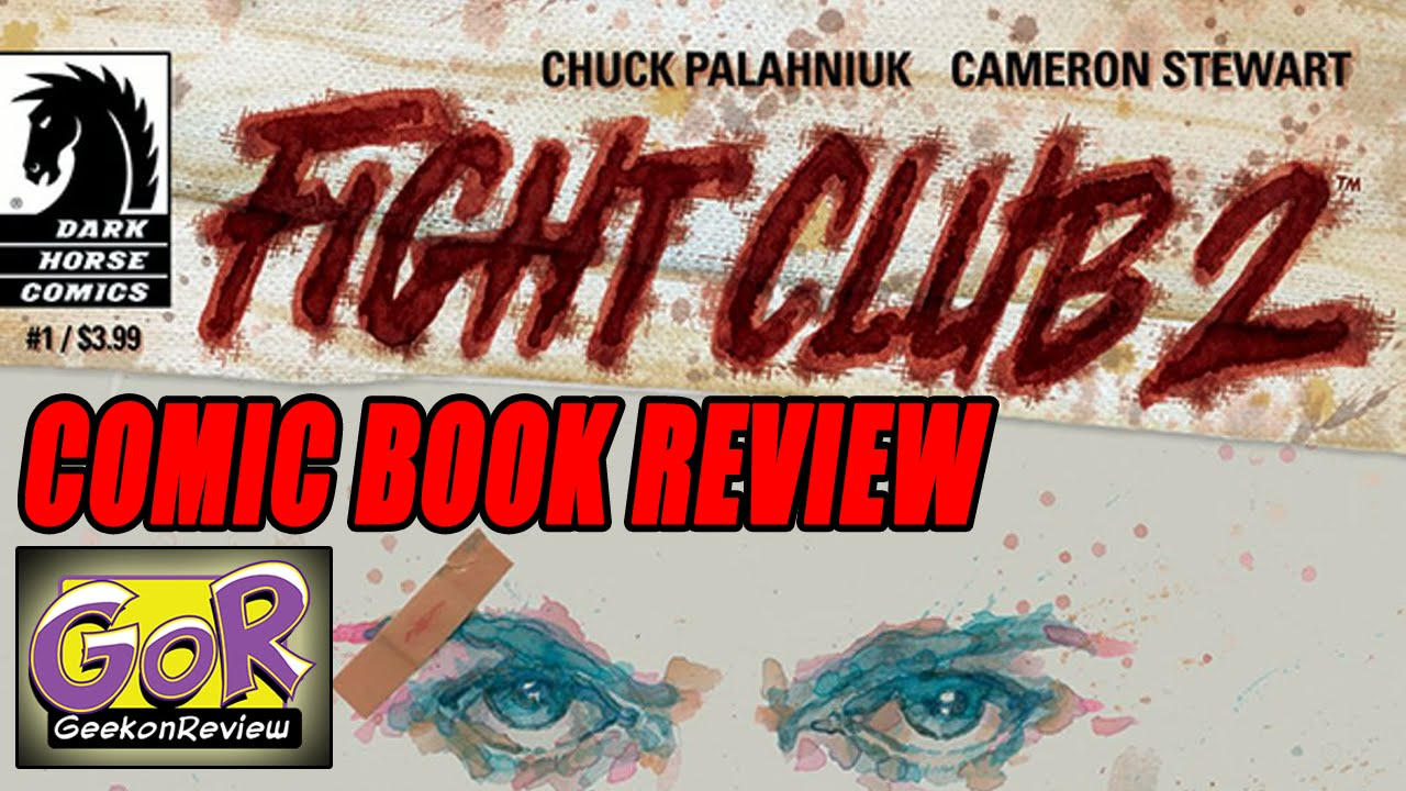 fight club book report