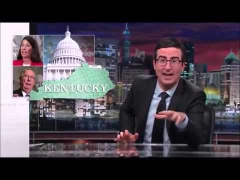 John Oliver Describes US States