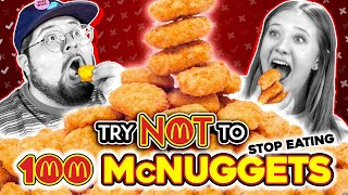 Baixar Last To Stop Eating McDonald's McNuggets WINS! | Try Not To Stop Eating Challenge