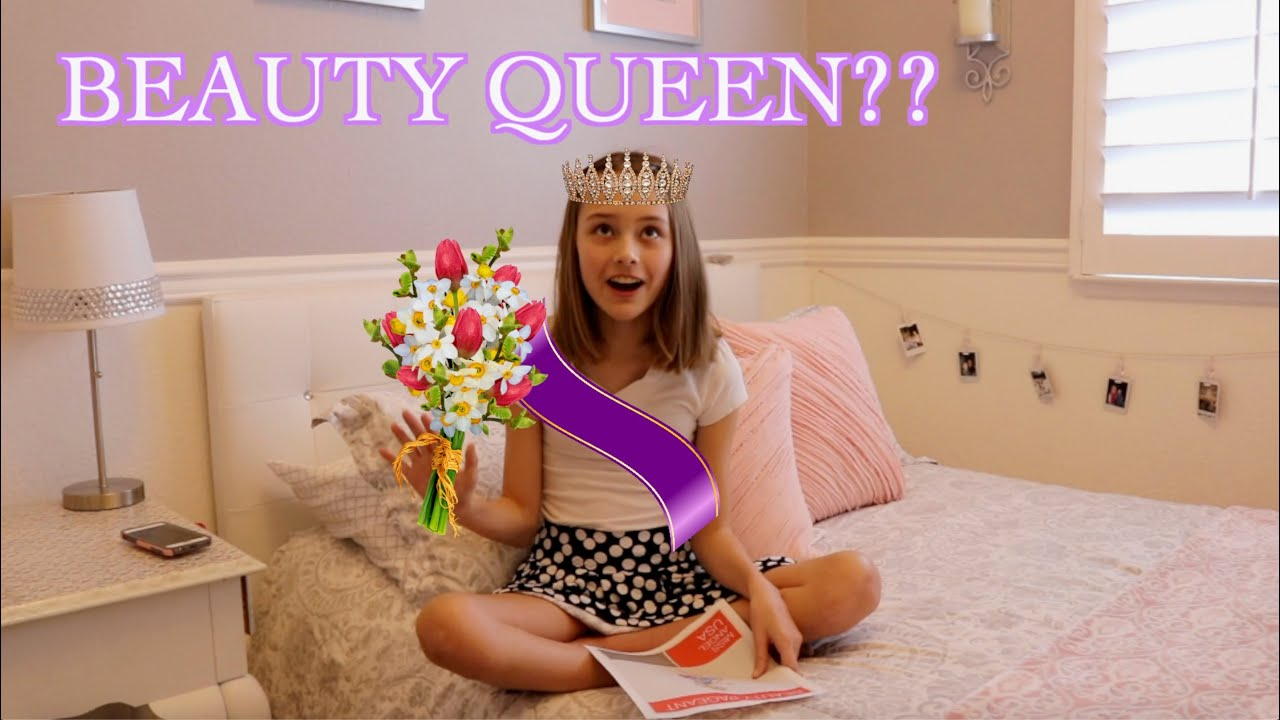 Lia Tries To Win A Beauty Pageant?