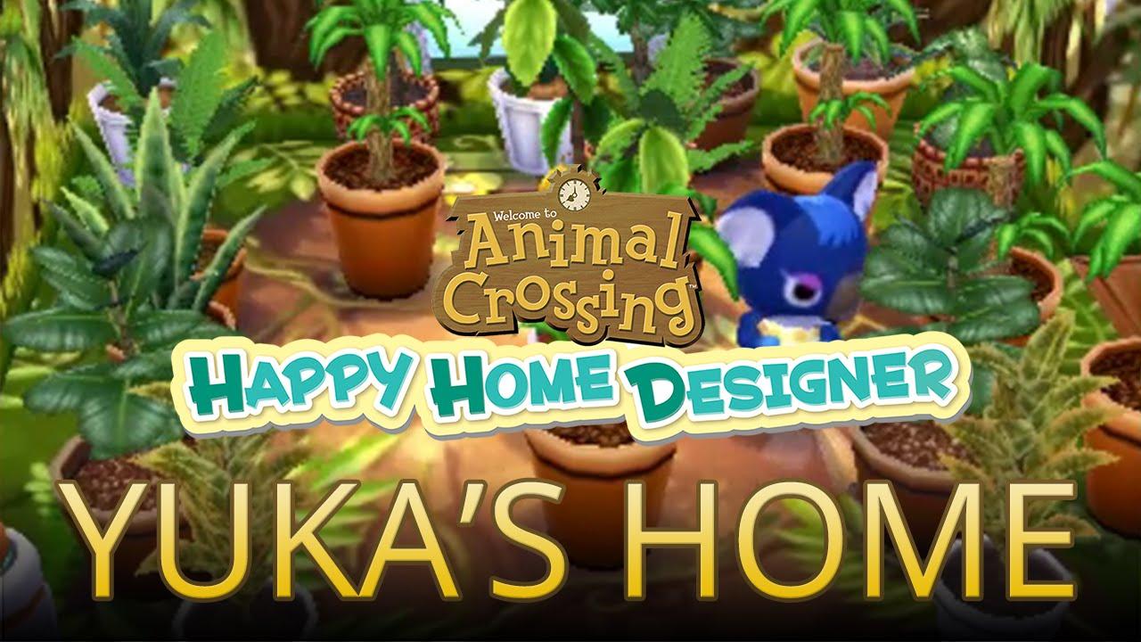 Using Amiibo Cards to Build Yuka's Home in Animal Crossing ...