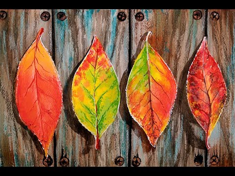LIVE! Packing Tape Masking Technique for Watercolor // Fall Leaves & Texture